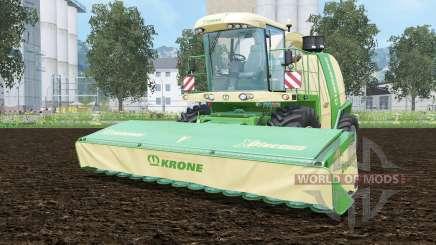 Krone BiG X 1100 pantone greeꞑ для Farming Simulator 2015