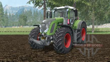 Fendt 927 Vario bud green для Farming Simulator 2015