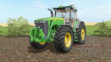John Deere 8530 wheel shader для Farming Simulator 2017