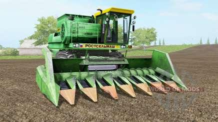 Дон-1500Б салатовый окраҫ для Farming Simulator 2017