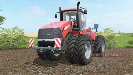 Case IH Steiger 370 twin wheelȿ для Farming Simulator 2017