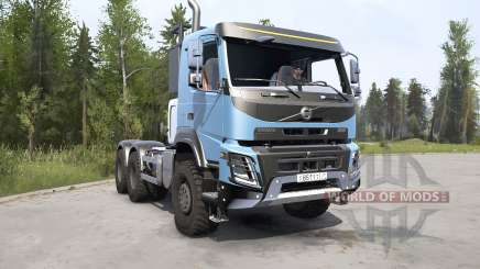 Volvo FMX 500 2013 для MudRunner