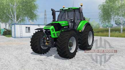 Deutz-Fahr 7250 TTV Agrotron MoreRealistic для Farming Simulator 2013