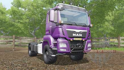 MAN TGS 18.480 plum для Farming Simulator 2017