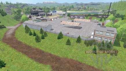 Долины Алтая для Farming Simulator 2015