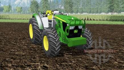John Deere 5115M front loader для Farming Simulator 2015