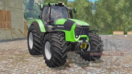 Deutz-Fahr 9340 TTV Agrotron green для Farming Simulator 2015