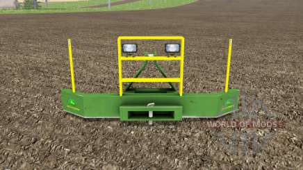 Frontgewicht John Deere для Farming Simulator 2017