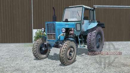 МТЗ-80 Беларус голубой для Farming Simulator 2013