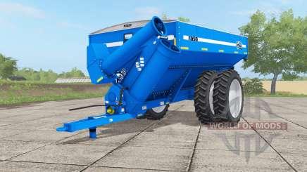Kinze 1050 gradus blue для Farming Simulator 2017
