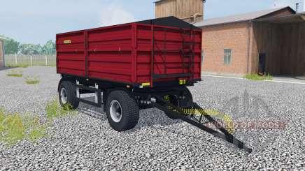 Zaslaw D-737AA-14 ruby red для Farming Simulator 2013