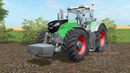 Fendt 1038-1050 Vario with weight для Farming Simulator 2017