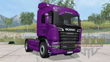 Scania R730 Streamline purple для Farming Simulator 2015