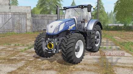 New Holland T7.290&T7.315 Blue Poweɽ для Farming Simulator 2017