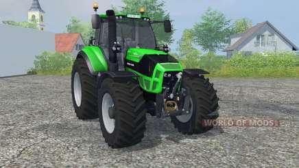Deutz-Fahr 7250 TTV Agrotron vivid malachite для Farming Simulator 2013