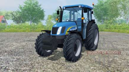 New Holland T4050 front loader для Farming Simulator 2013