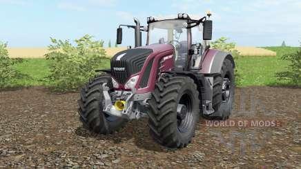 Fendt 930-939 Vario solid pink для Farming Simulator 2017