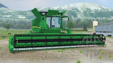 John Deere S690i spanish green для Farming Simulator 2013