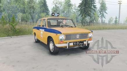 ВАЗ-2101 Жигули ГАИ СССР для Spin Tires