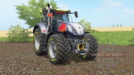 New Holland T7.290 Red Rikiᶒ для Farming Simulator 2017