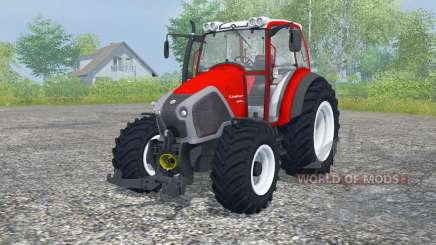 Lindner Geotrac 94 candy apple red для Farming Simulator 2013