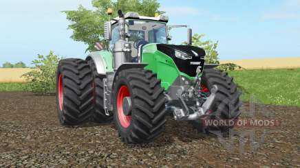 Fendt 1038-1050 Vario double wheels для Farming Simulator 2017