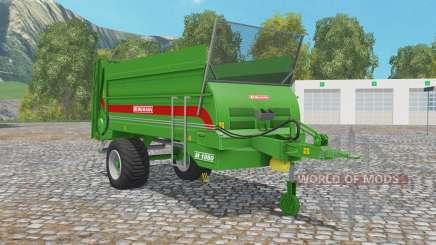 Bergmann M 1080 north texas green для Farming Simulator 2015