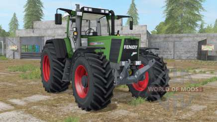 Fendt Favorit 926 Vario sea green для Farming Simulator 2017