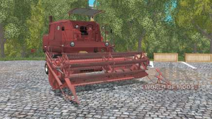 Bizon Super Z056 english red для Farming Simulator 2015