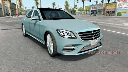 Mercedes-Benz S 400 d Lang AMG Line (V222) 2017 для American Truck Simulator