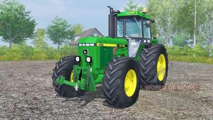 John Deere 4455 pantone green для Farming Simulator 2013
