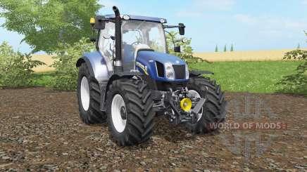 New Holland T6.140&T6.160 Blue Power для Farming Simulator 2017