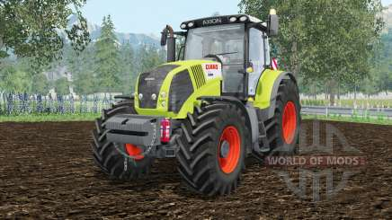 Claas Axion 850 extra weightᶊ для Farming Simulator 2015