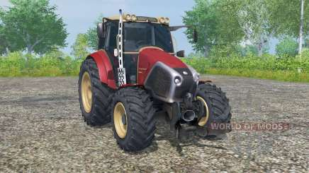 Lindner Geotrac 94 persian red для Farming Simulator 2013