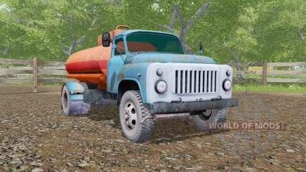 ГАЗ-53 автоцистерна для Farming Simulator 2017