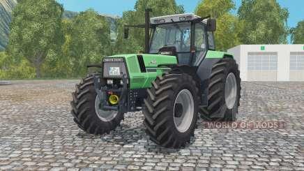 Deutz-Fahr AgroStar 6.81 medium sea green для Farming Simulator 2015