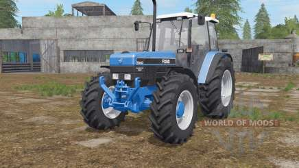 Ford 7840〡8240〡8340 для Farming Simulator 2017