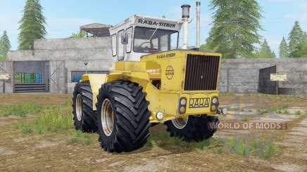 Raba-Steiger 250 minion yellow для Farming Simulator 2017