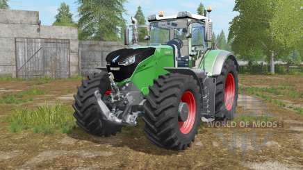 Fendt 1038-1050 Vario pantone green для Farming Simulator 2017
