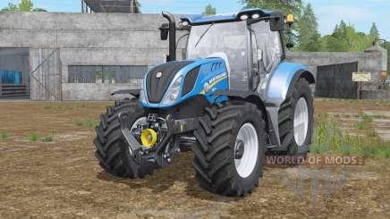 New Holland T6.145〡T6.165〡T6.175 для Farming Simulator 2017