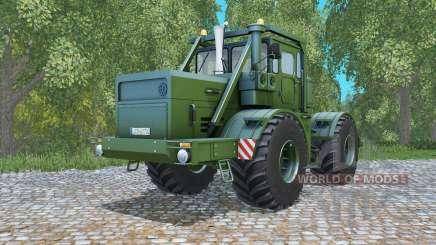 Кировец К-700А тёмно-оливково-зелёный для Farming Simulator 2015