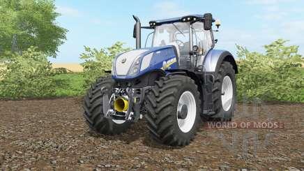 New Holland T7.290&T7.315 Blue Power для Farming Simulator 2017