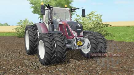 Fendt 716-724 Vario added dual wheels для Farming Simulator 2017