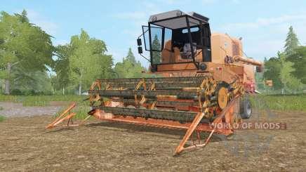 Bizon Super Z056 tan hide для Farming Simulator 2017