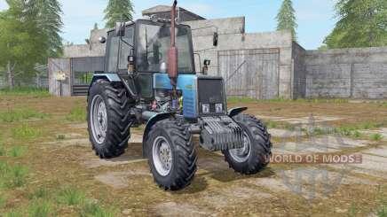 МТЗ-1025 Беларус голубой для Farming Simulator 2017