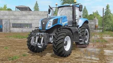 New Holland T8.320〡T8.380〡T8.435 для Farming Simulator 2017