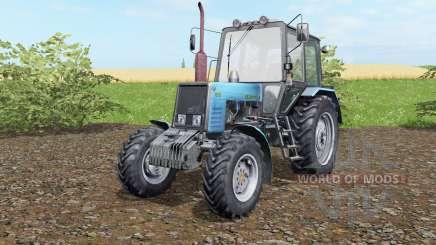 МТЗ-1025 Беларус голубой окраҫ для Farming Simulator 2017