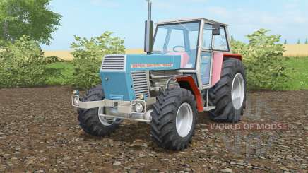 Zetor Crystal 12045 blue green для Farming Simulator 2017