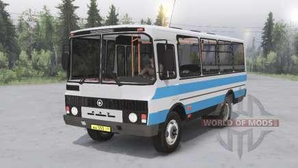 ПАЗ-3205 v1.2 для Spin Tires