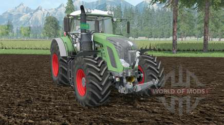 Fendt 939 Vario aqua forest для Farming Simulator 2015